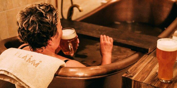 Pobyt v penzióne Flámm - chutné jedlo, poctivé remeselné pivo a wellness relax v pivnom kúpeli