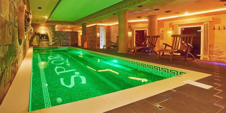 Wellness & SPA pobyt v Rímskom štýle v Hoteli Privilege****