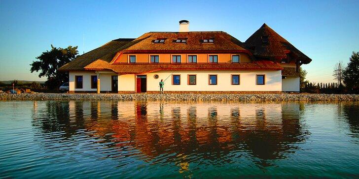 Romantický wellness pobyt vo vychýrenom Penzióne Rybársky Dvor
