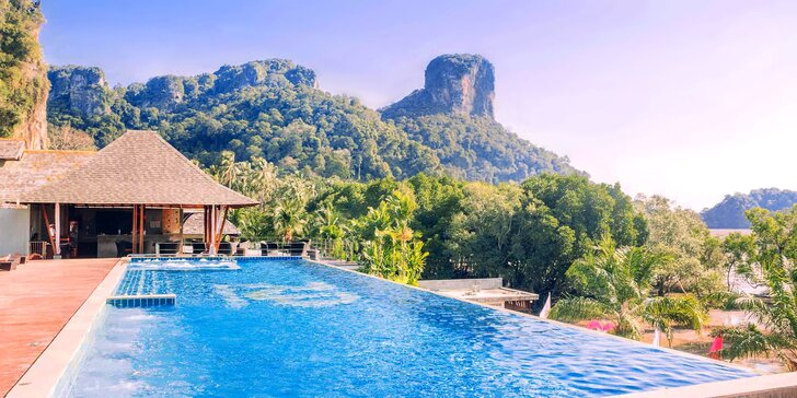 4* exotický rezort v Thajsku: 6-12 nocí, raňajky, 2 bazény, 200 m od pláže