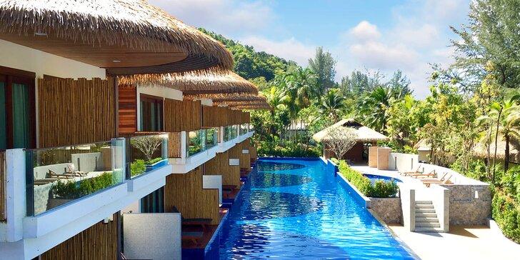 Nádherný 4* rezort v Thajsku: 6-12 nocí, raňajky, bazén s wellness časťou