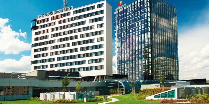 Luxusný víkendový pobyt s možnosťou wellness v hoteli Lindner ****