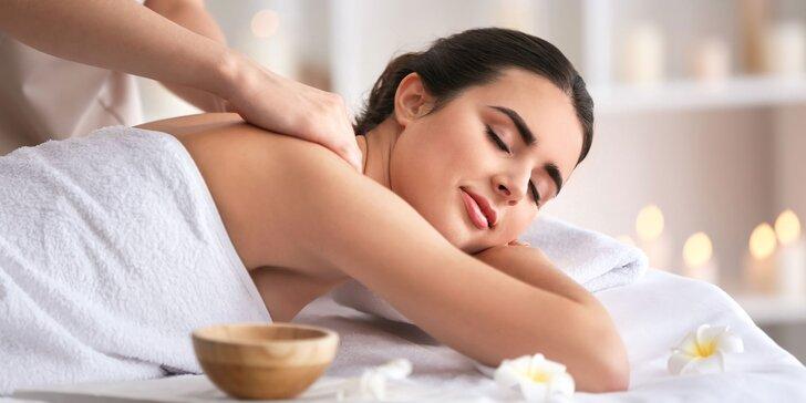 Reflexná masáž chodidiel, klasická celotelová alebo aroma masáž