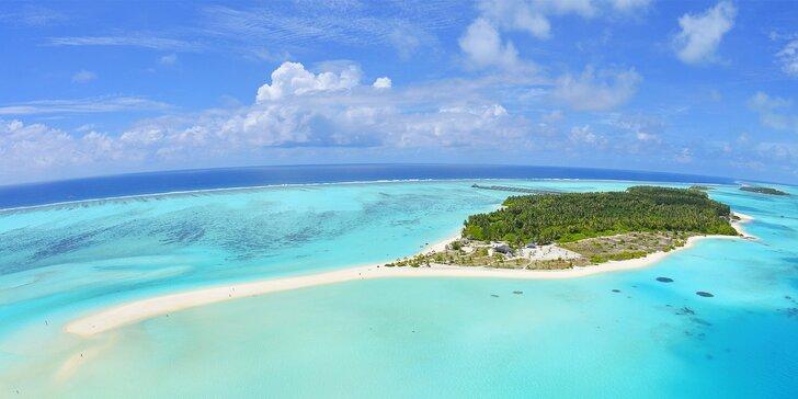 Exotický 4* rezort na Maldivách: 6–12 nocí, plná penzia, bazén, 1 dieťa zdarma