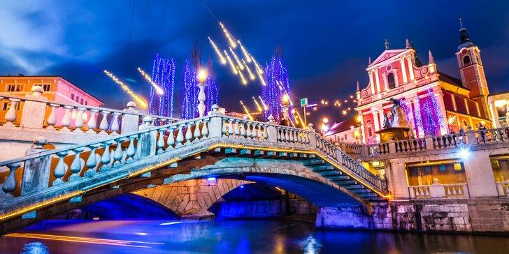 3-dňové objavovanie vianočnej Ľubľany a Benátok s ubytovaním a raňajkami
