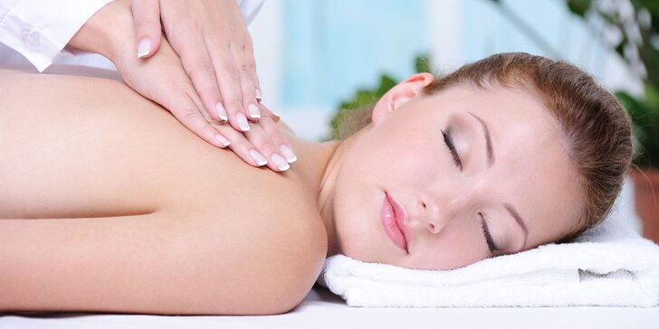 Dámy, doprajte svojmu chrbtu či rovno celému telu vytúžený relax pri masáži