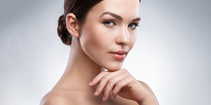 Chemický peeling alebo darčekový poukaz na kozmetické služby