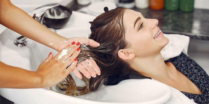 Dámsky strih a regenerácia na vlasov Argan & Keratin