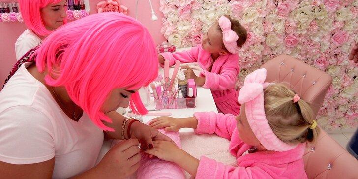 Vyskúšajte prvé detské spa pre malé princezné a ich maminy - Pink Spa!