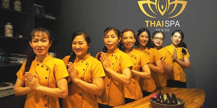 Balíček thajských masáží a darčekové poukazy