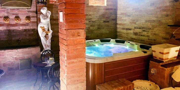 Oddychový privátny wellness na 2 hodiny vo Villa Vodička