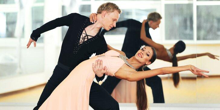 Základný plesový kurz spoločenských tancov pre dospelých
