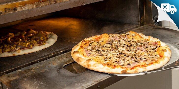 Pizza podľa výberu - donáška a osobný odber v Petržalke