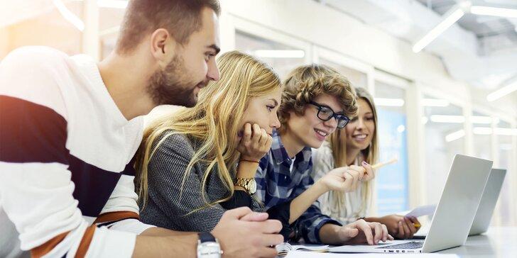 Certifikované a akreditované online kurzy v oblasti IT, marketingu či manažmentu