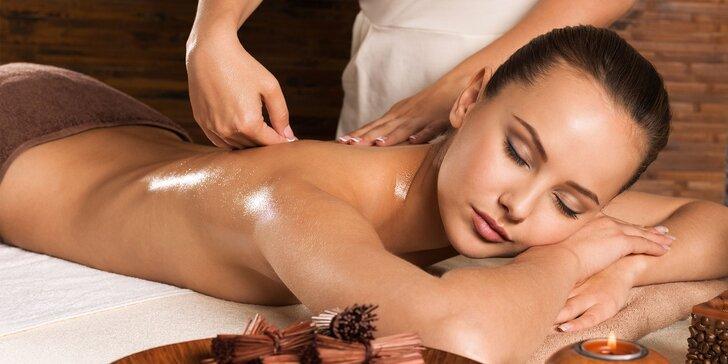 Masáž chrbta, šije a pliec či komplexná starostlivosť o chrbát