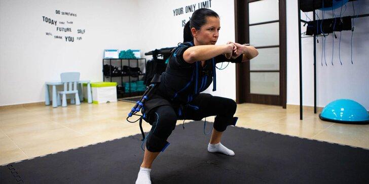 EMS tréning: efektívne kombinované cvičenie na prístroji