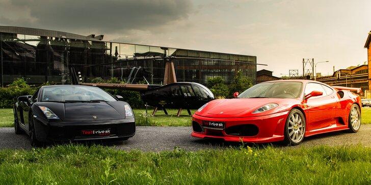 Otestuj na vlastnej koži! Jazda snov na Ferrari, Lamborghini a Nissan GT-R