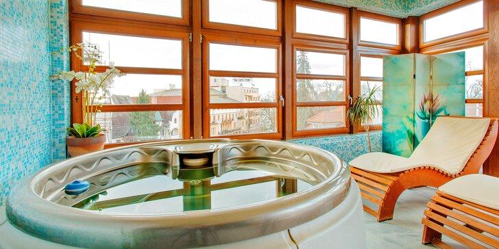 Kúpeľný pobyt v Hoteli Pavla**** vo výbornej lokalite hneď pri Kolonádovom moste