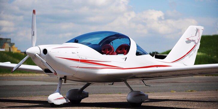 Zážitkový let lietadlom STING S4 s pilotovaním na skúšku