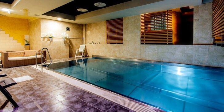 Pobyt v centre Lipt. Mikuláša v Hoteli Jánošík****: 4x sauna, bazén, vírivka a zľava do reštaurácie
