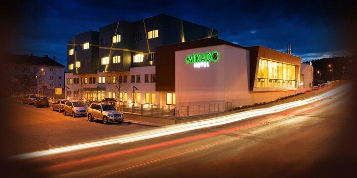 Romantika v Hoteli MIKADO**** - chutná strava, neobmedzený vstup do wellness centra a vysoký štandard služieb