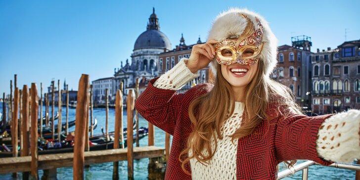 4-dňový zájazd do Benátok - karneval, raňajky a ubytovanie