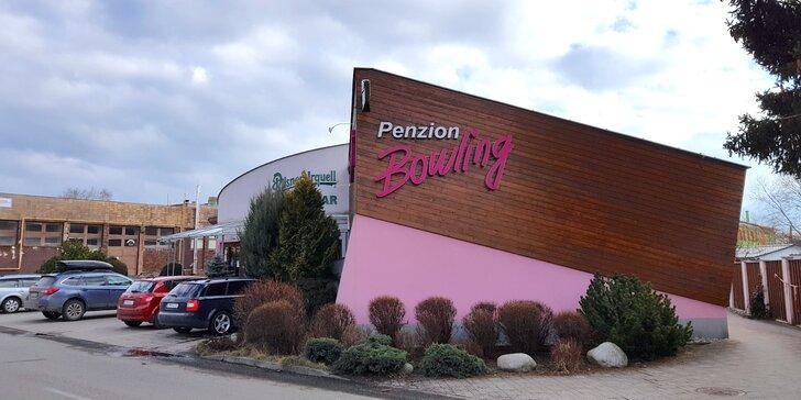 Pobyt v centre Liptovského Mikuláša v Penzióne Bowling