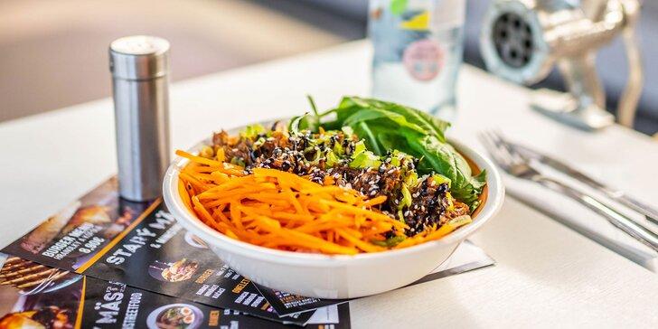 Kačacia miska u Starého mäsiara: s ryžou a zeleninovou prílohou