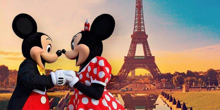 Klenot menom Paríž, krása zámku Versailles a Disneyland