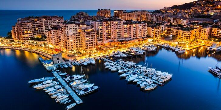 5-dňový zájazd na Francúzsku riviéru aj s kúpaním pri mori - Monako Nice, Cannes