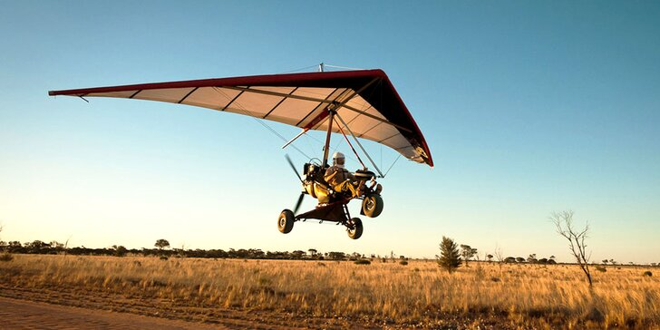Objavujte svet z výšky počas letu motorovým rogalom Pilot Club