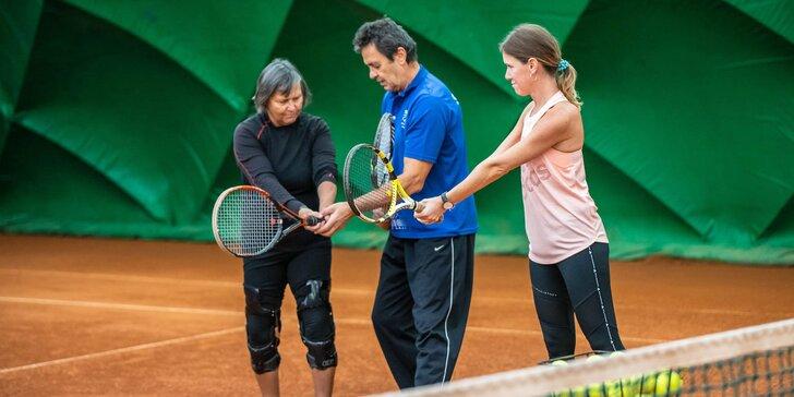 Tenisové tréningy pre všetkých od 4 do 99 rokov v srdci Bratislavy