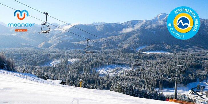 Zimné zážitky v Oraviciach: Na SVAHU, ale aj v AQUAPARKU v jednom stredisku počas celej HLAVNEJ sezóny