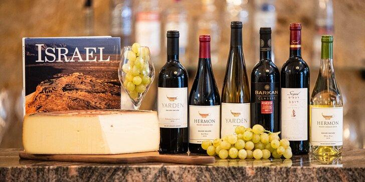 Moderovaná degustácia 9 izraelských vín - v ponuke aj vína prvýkrát v Európe