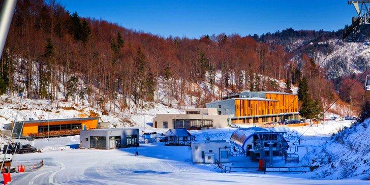 Wellness pobyt v hoteli Salamandra**** - komfortné ubytovanie v srdci Štiavnických vrchov, lyžiarsky svah a chutná polpenzia