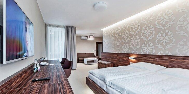 Relax v Baťovom kraji - moderné ubytovanie s raňajkami v hoteli Morava Garni