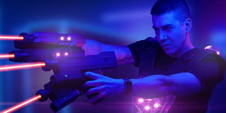 Zažite akčný Laser game, virtuálnu realitu alebo využite darčekový poukaz!
