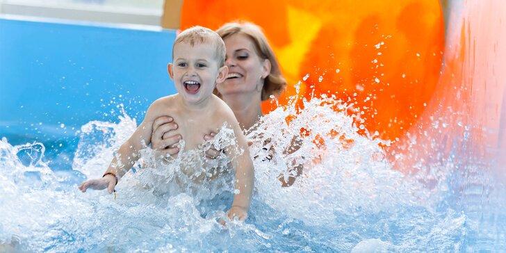 Celodenné vstupy do Aquaparku Senec aj so vstupom do wellness + masáž