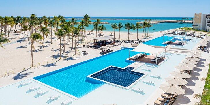 Dokonalý relax v 4*+ rezorte v Ománe: 5–11 nocí s all inclusive, vírivky