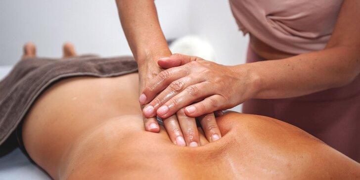 Bankovanie, klasická masáž alebo masáž lávovými kameňmi