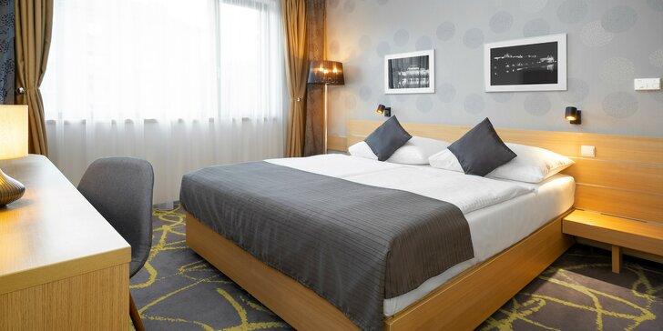Pobyt v romantickej Prahe - 4* hotel, bohaté bufetové raňajky a ubytovanie včlenené do komplexu futbalového štadióna