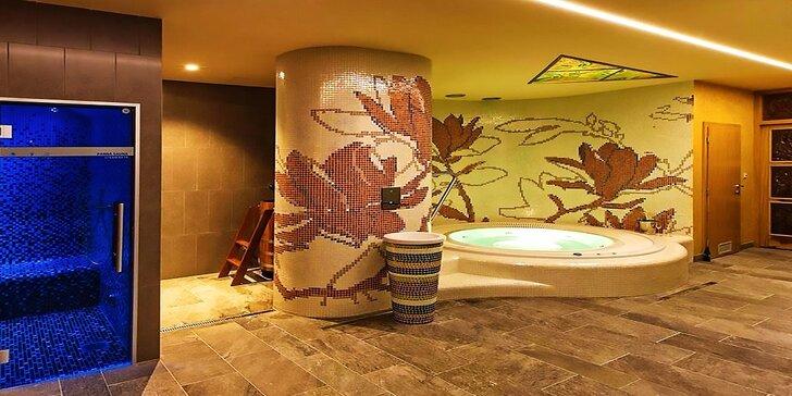 Wellness pobyt v luxusne zariadenej Vile Magnolia v širšom centre Banskej Štiavnice so špičkovým privátnym wellness