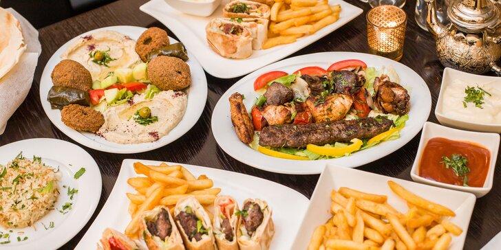 Lahodné orientálne chute arabskej kuchyne v Jasmin Al Shaam