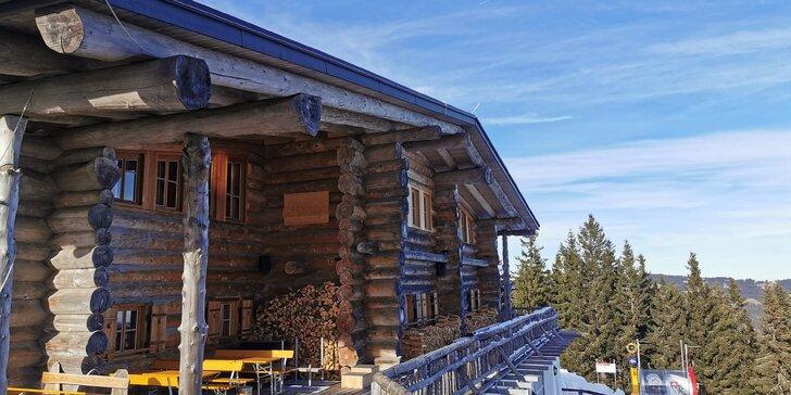 Zimný pobyt s lyžovačkou v rakúskych Alpách
