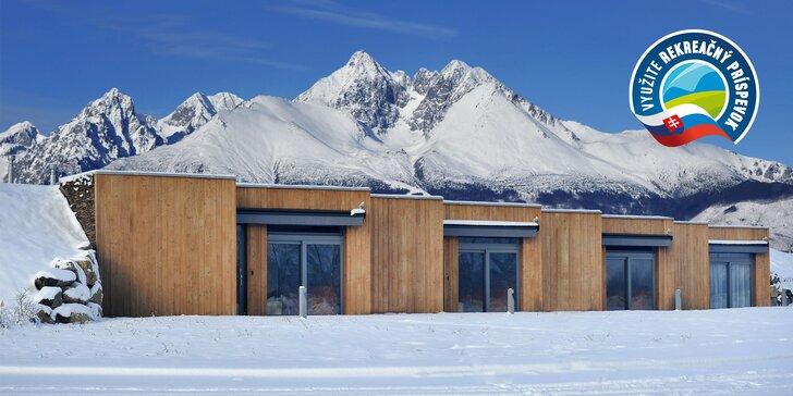 Oddych pod Tatrami v nových priestranných apartmánoch so zľavou do Aquaparkov