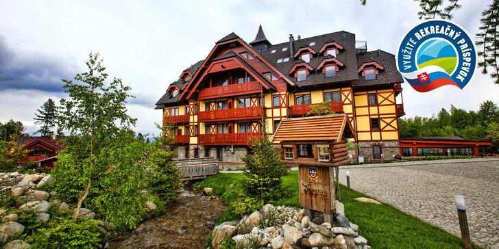 APLEND Hotel Kukučka**** s jedinečnou horskou architektúrou priamo pod Tatrami