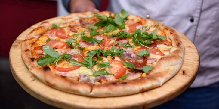 Vyberte a vezmite si so sebou skvelú pizzu podľa chuti v Pizza Grande