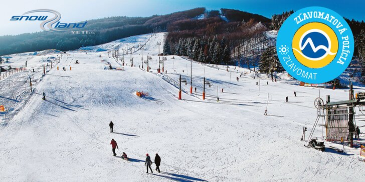 8-hodinové prenosné skipasy do Snowlandu Valčianska dolina - platné počas celej hlavnej sezóny