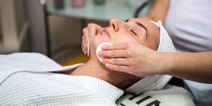 Kozmeticko-masážne procedúry pre dámy aj pánov s francúzskou kozmetikou