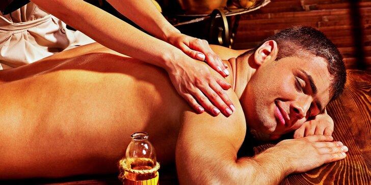 Exotické masážne balíčky s prírodnými olejmi a liftingovou masážou tváre